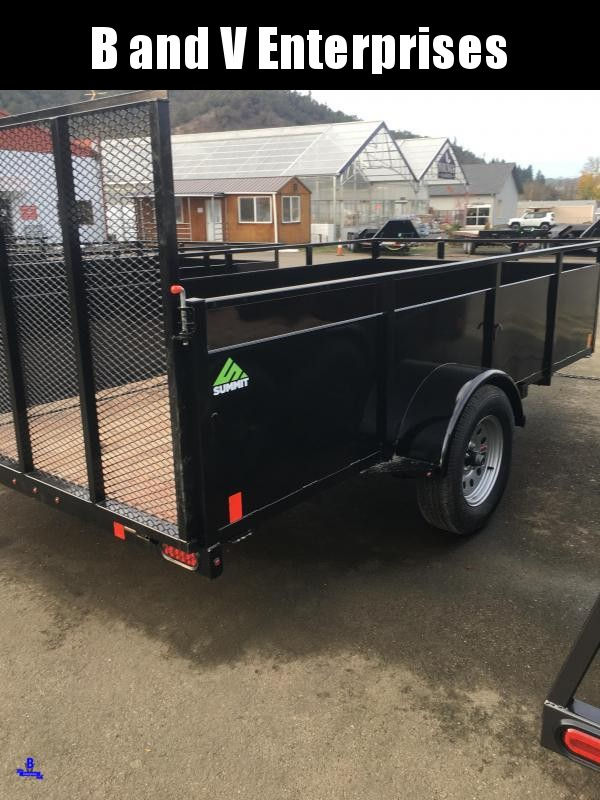 2021 SUMMIT ALPINE AU612SA-SR 6X12 BOX UTILITY TRAILER