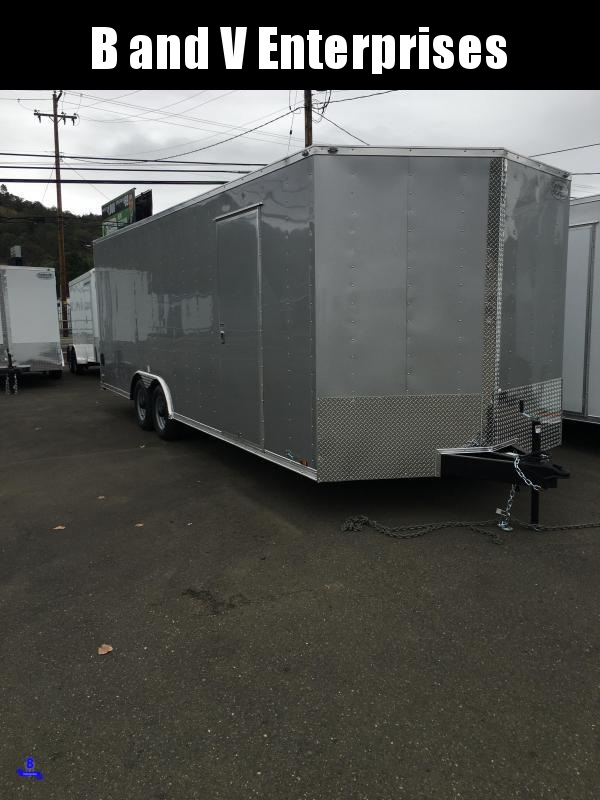 2021 Continental Cargo Car hauler VHW8524TA3 8.5 X 24 Enclosed Cargo Trailer