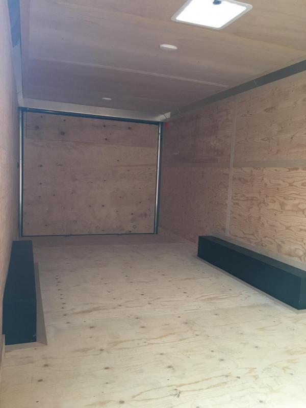 2021 Continental Cargo Car hauler VHW8524TA3 8.5 X 24 Enclosed Cargo Trailer