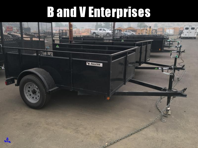 2014 USED Eagle Falcon 5X8 Utility Trailer
