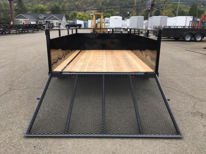2020 SUMMIT ALPINE AU58SA 5X8 BOX UTILITY TRAILER