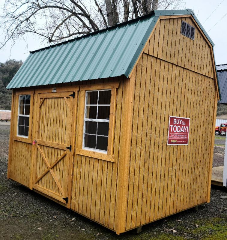 2021 Old Hickory WSLBX SIDE LOFTED BARN 8X12 WINDOWS SHED