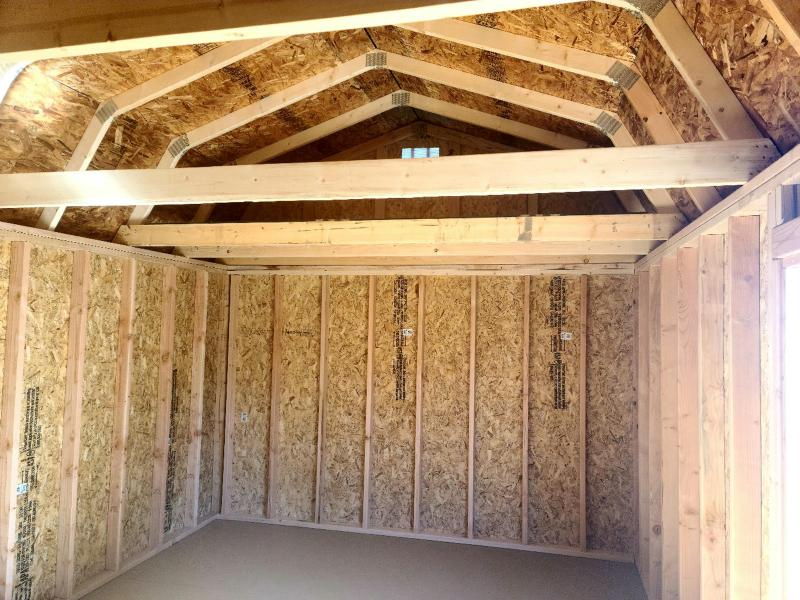 2021 Old Hickory WSLBX 12X24 LOFTED BARN SHED