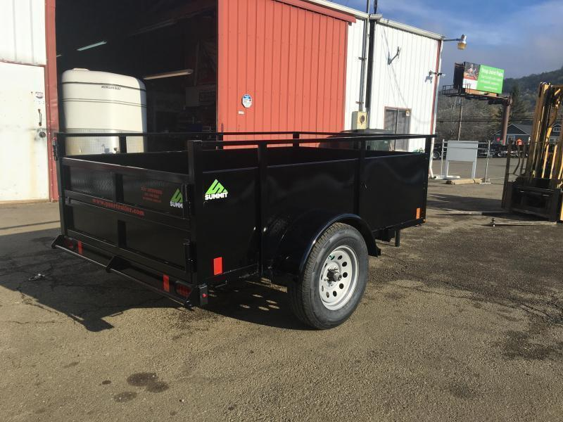 2021 SUMMIT ALPINE AU58SA 5X8 BOX UTILITY TRAILER
