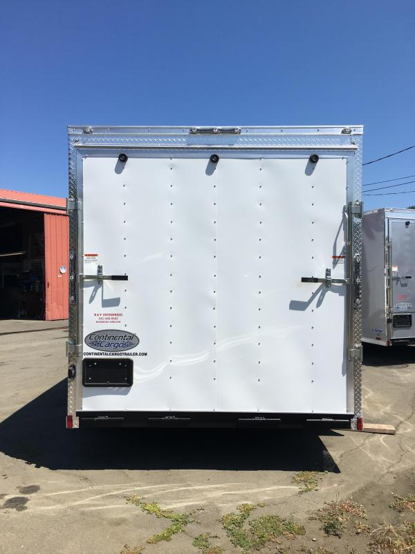 2021 Continental Cargo VHW714TA2 7x14 Enclosed Cargo Trailer