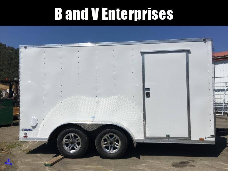 2021 Continental Cargo VHW714TA2 7x14 Enclosed Cargo Trailer