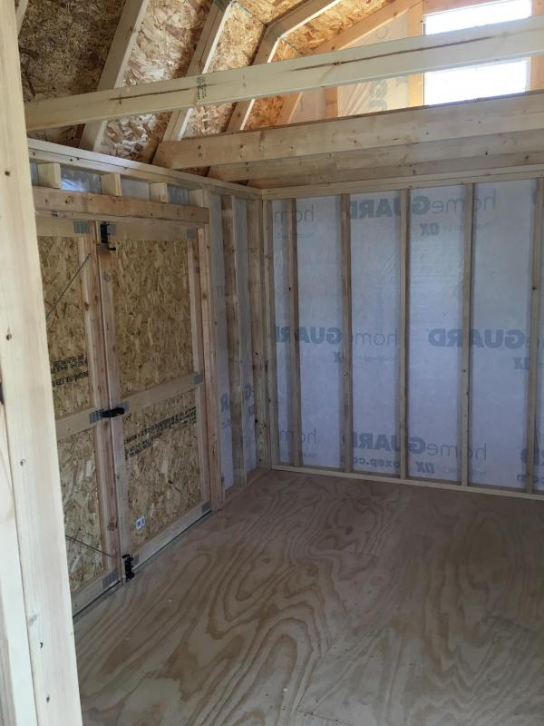 2020 FULLY CUSTOM Old Hickory Shed WSLPHX 10X20 DELUXE SIDE PORCH PACKAGE