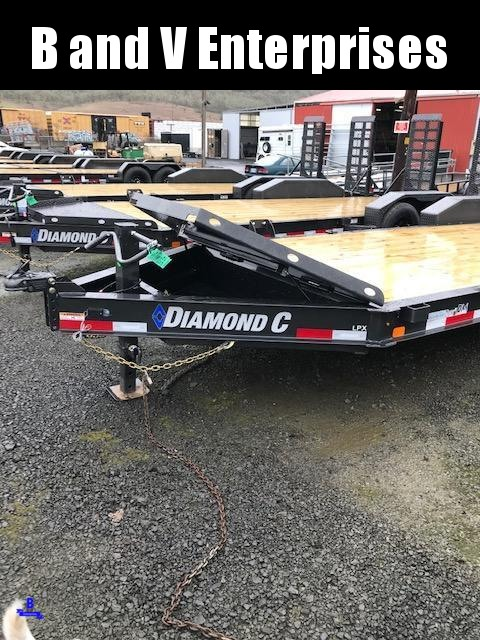 2021 LPX207 Diamond C 22X82 HD Low Profile UPGRADED Equipment Trailer