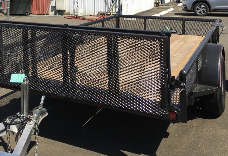 2020 Diamond C Trailers PSA135 10 X 77 3K ATV PACKAGE Utility Trailer