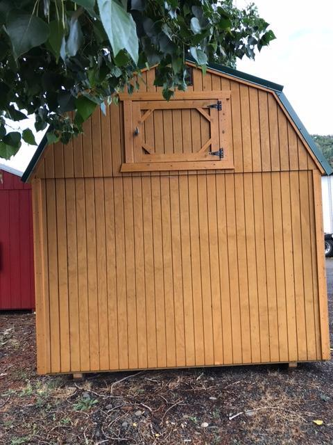 USED REPO 2020 Old Hickory 10x14 WLPHX LOFTED PLAYHOUSE PACKAGE Barn Shed