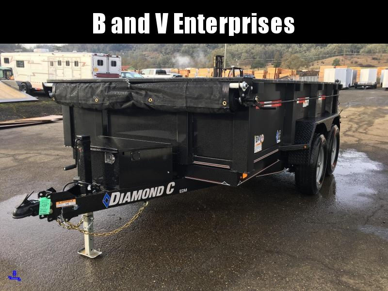 "2020 DIAMOND C EDM252 12'X77"" 10K DUMP TRAILER  #L1223315"