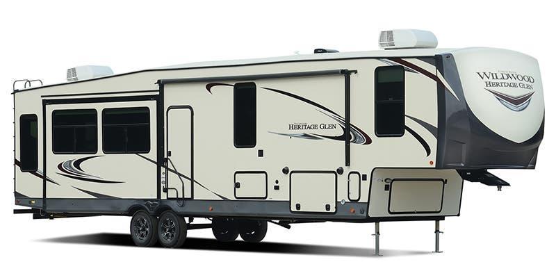 2021 Forest River Wildwood Heritage Glen 378FL Fifth Wheel Campers RV