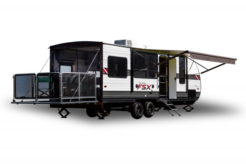 2021 Forest River Wildwood FSX 181RTMW Toy Hauler RV