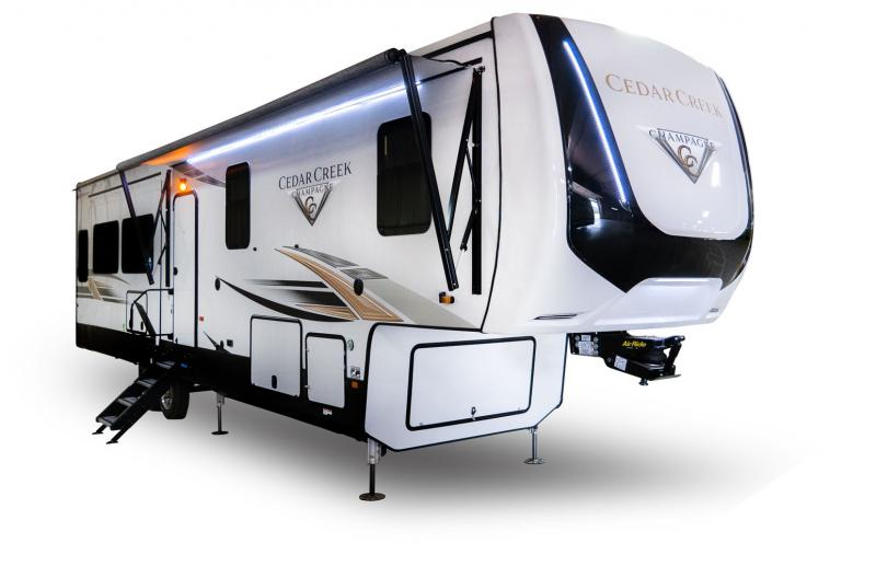 2021 Forest River Cedar Creek Champagne Edition 38ERD Fifth Wheel Campers RV