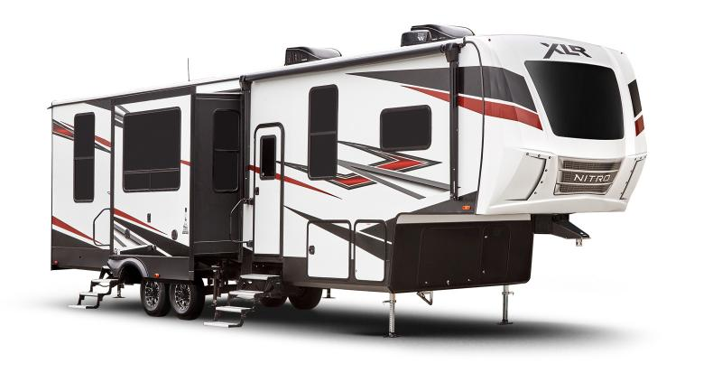 2021 Forest River XLR Nitro 407 Toy Hauler RV