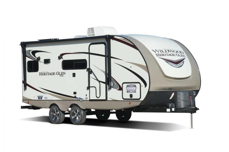 2021 Forest River Heritage 19RBHL Travel Trailer RV