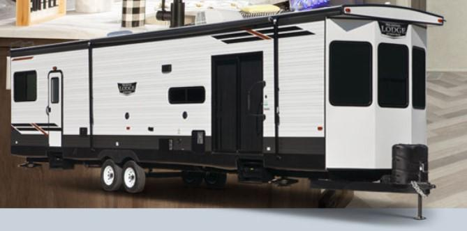 2021 Forest River Wildwood Lodge 394FKDS Destination Trailer RV
