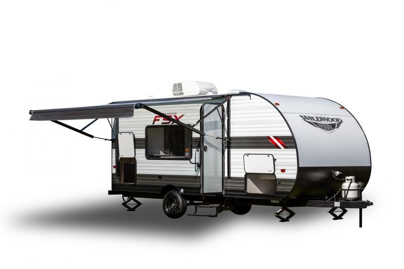 2021 Forest River Wildwood FSX 179DBKMW Travel Trailer RV