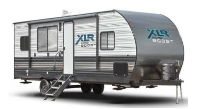2022 Forest River XLR Micro Boost 27LRLE Toy Hauler RV