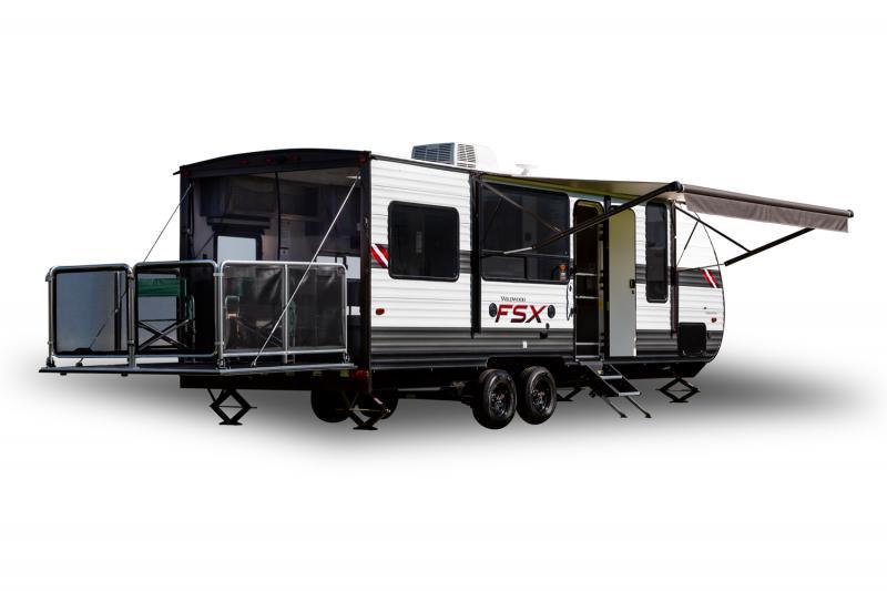 2022 Forest River Wildwood FSX 190RT Toy Hauler RV