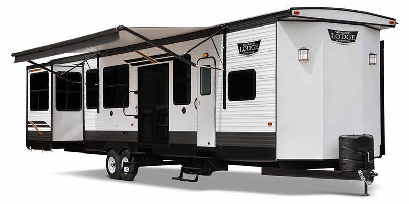 2021 Forest River Wildwood Lodge 42FLDL Destination Trailer RV