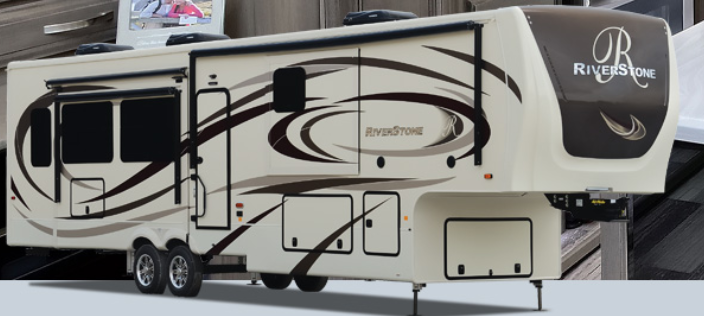 2022 Forest River River Stone 39FK Fifth Wheel Campers RV