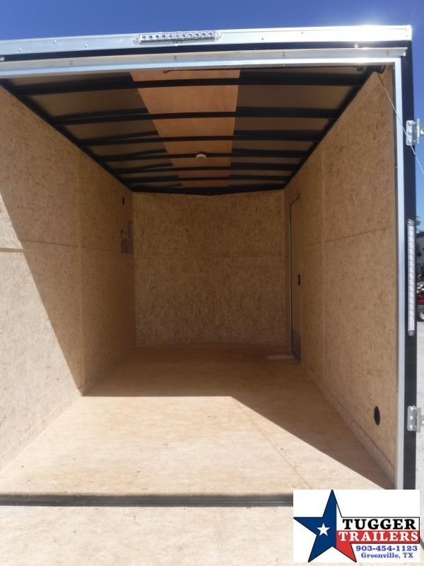2021 Cargo Express 7x14 V-Nose XL Standard Tandem Electric Utility Trailer