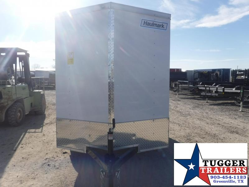 2021 Haulmark 5x10 10ft Utility Tool Bike Move Travel Band Work Enclosed Cargo Trailer