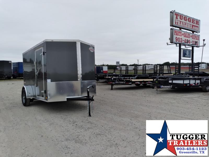 2021 Cargo Mate 6x10 10ft E-V Utility Sport Band Move Travel Work Enclosed Cargo Trailer