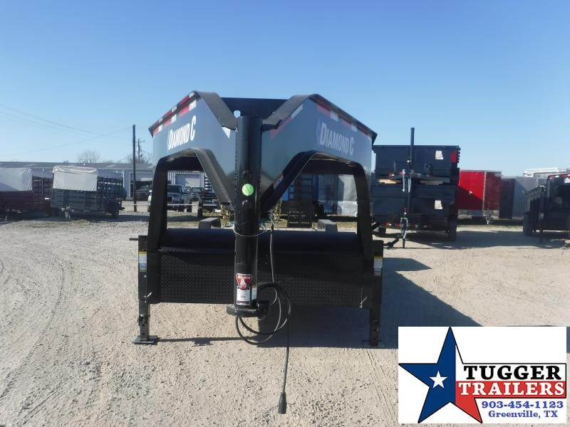 2021 Diamond C Trailers LPX 82x24 24ft Low Profile Flatbed Farm Work Tool Equipment Trailer