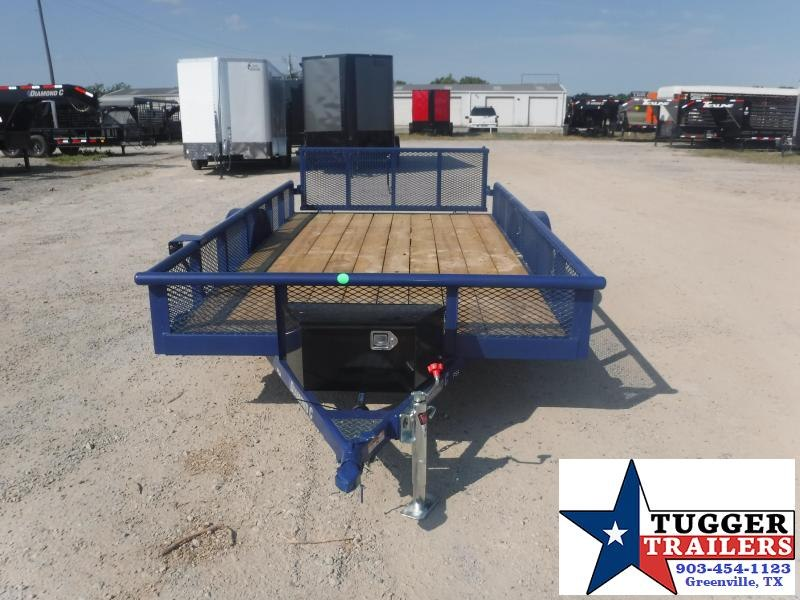 2020 Diamond C Trailers 77x12 12ft Flatbed Pipe Top Toy Side Camp Move Utility Trailer
