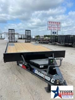 2021 Diamond C Trailers DEC207 Flatbed Equipment Trailer