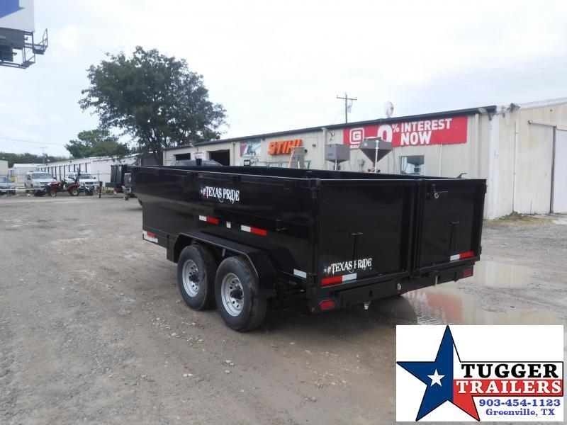 2022 Texas Pride Trailers 7x14x3 DT714314KBP Dump Trailer