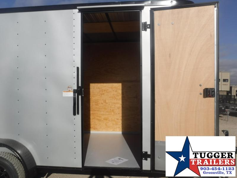 2021 Cargo Craft 7x16 Plus 2' V-Nose Utility Work Toy Side Lawn Enclosed Cargo Trailer