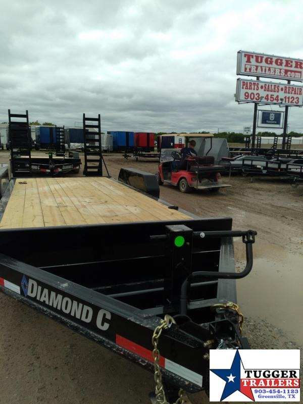 2021 Diamond C Trailers 82x18 18ft Utility Flatbed Farm Tool Work Steel Equipment Trailer