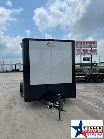 2021 Cargo Craft 7x14 Black Out Enclosed Cargo Trailer