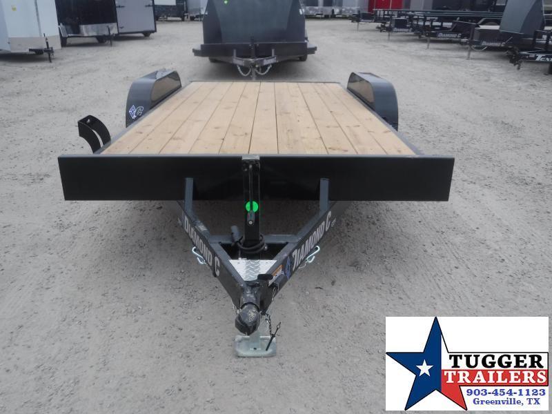 2021 Diamond C Trailers 16x83 GTF Flatbed Tilted Classic Hauler Utility Car / Racing Trailer