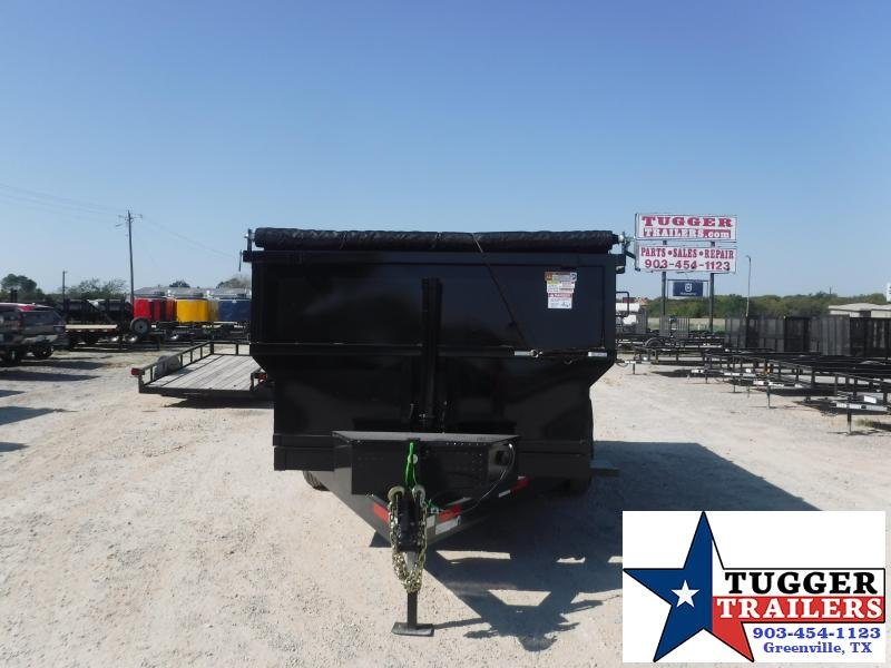 2022 Texas Pride Trailers 7x14x4 DT71414KBP Dump Trailer