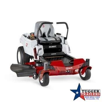 2021 Exmark Quest E-Series Fab Deck Zero Turn Lawn Mower Lawn Equipment