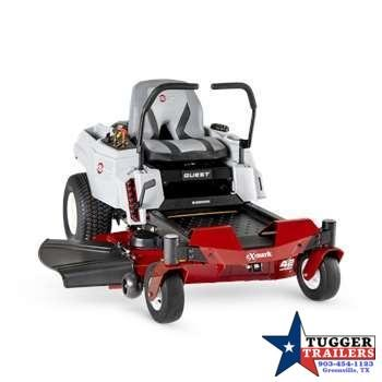 2021 Exmark Quest E-Series Fab Deck Zero Turn Lawn Mower Lawn Equipment