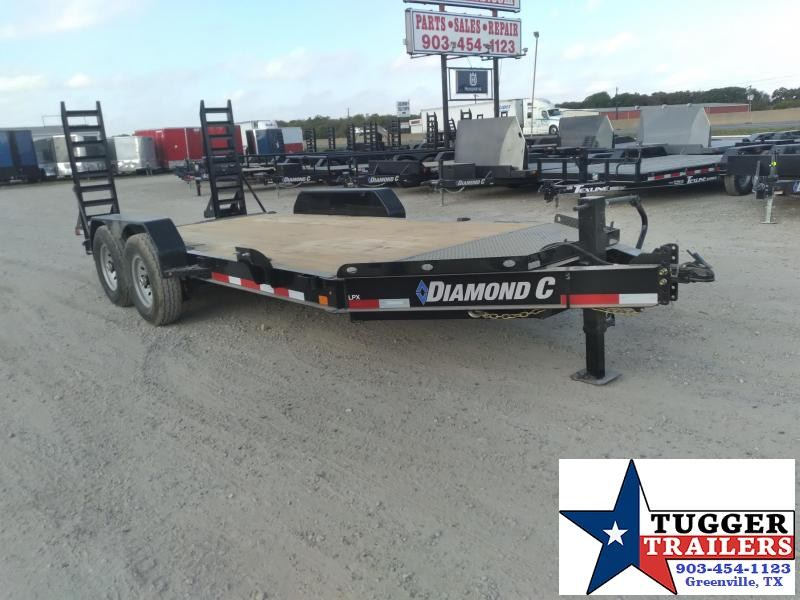 2021 Diamond C Trailers 82x16 16ft LPX Steel Heavy Duty Work Construction Equipment Trailer