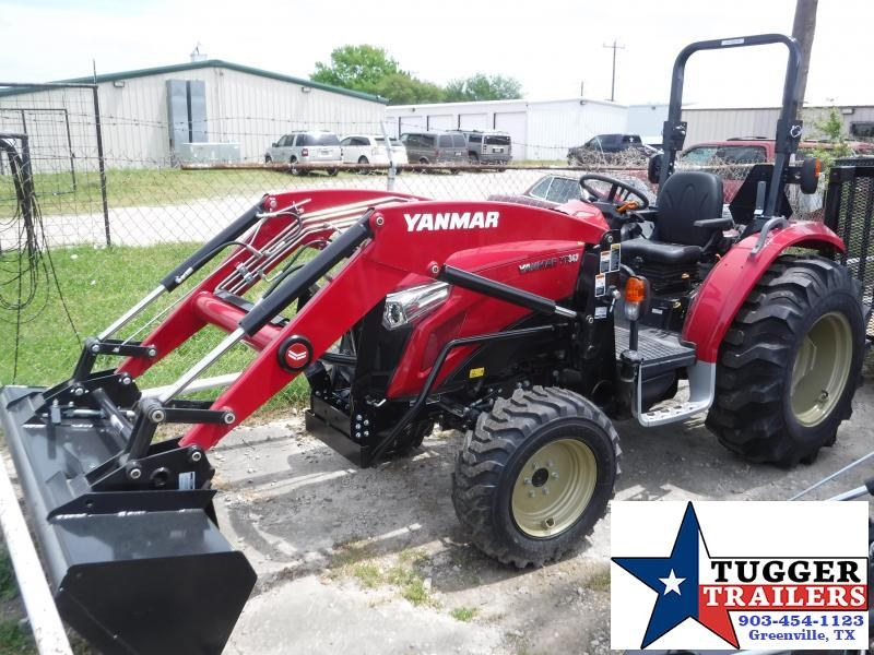 2020 Yanmar USA YT 347 Tractor and Loader!
