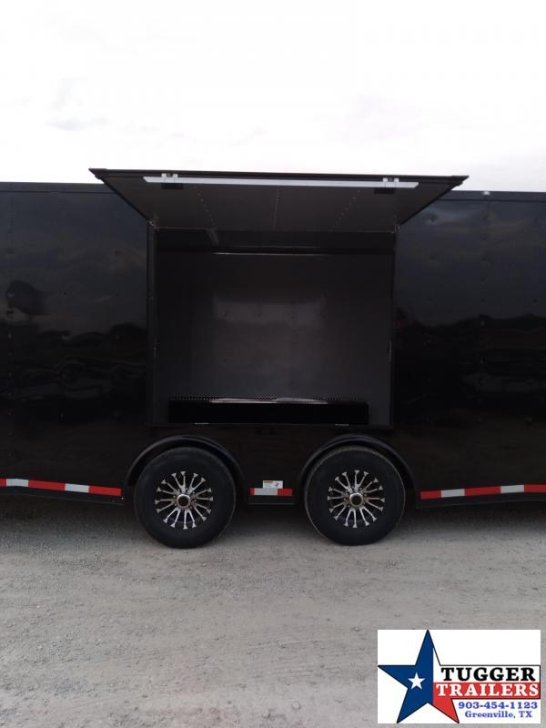 2021 Cargo Craft 8.5x32 32ft Spread Axle Black Out Auto Mobile Car / Racing Trailer