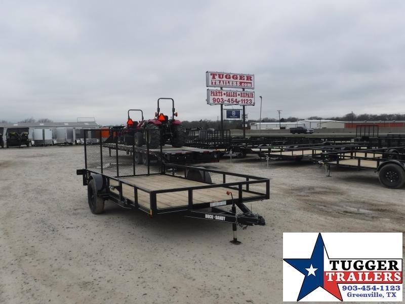 2021 Buck Dandy 83x14 14ft Side Toy Work Travel Move Storage Lawn Utility Trailer
