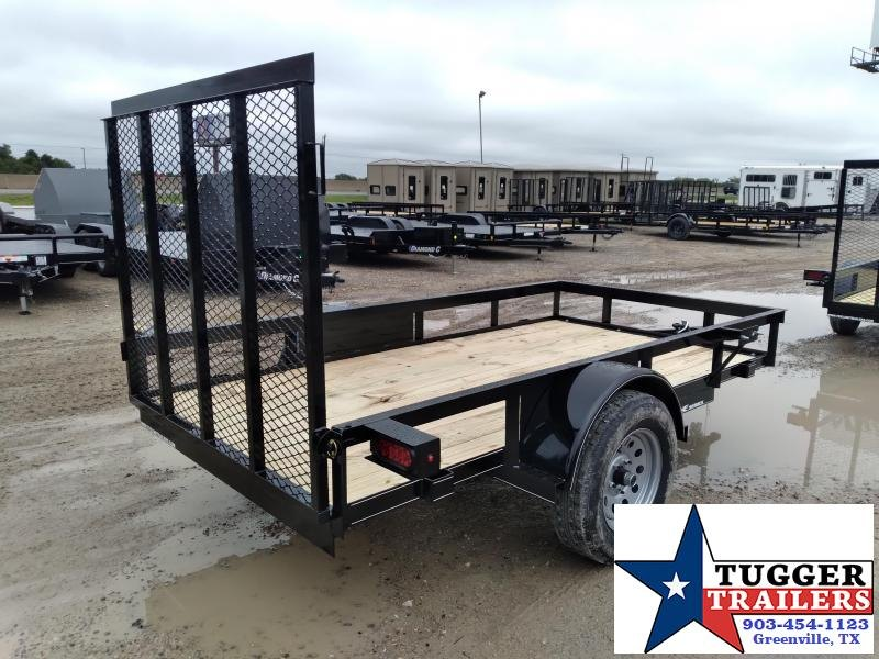 2020 TexLine 5x10 10ft Small Personal Single Axle Open Haul Utility Trailer
