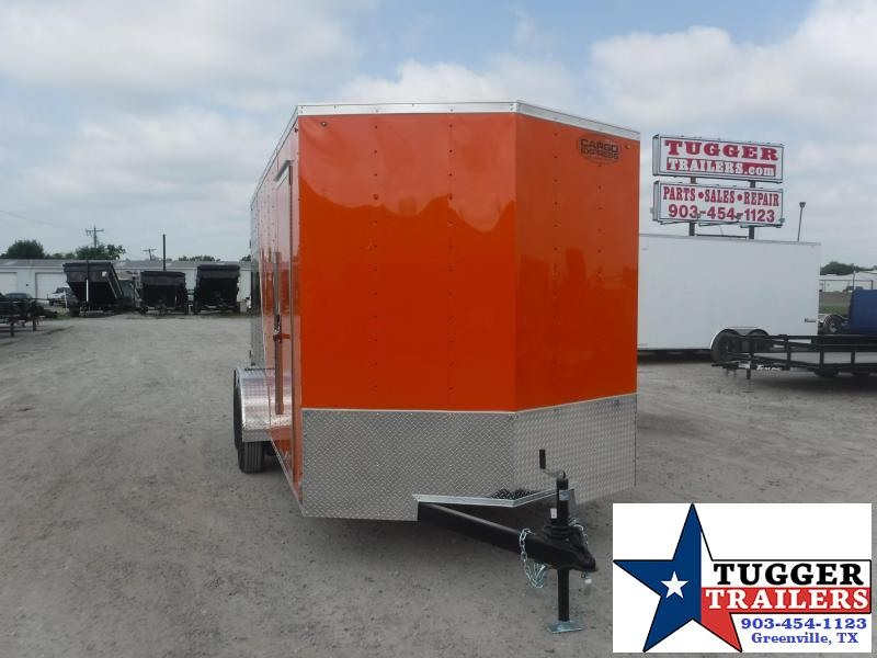 "2021 Cargo Express 7x16 16ft 18"" V-Nose Utility Toy Side Ramp ATV Enclosed Cargo Trailer"