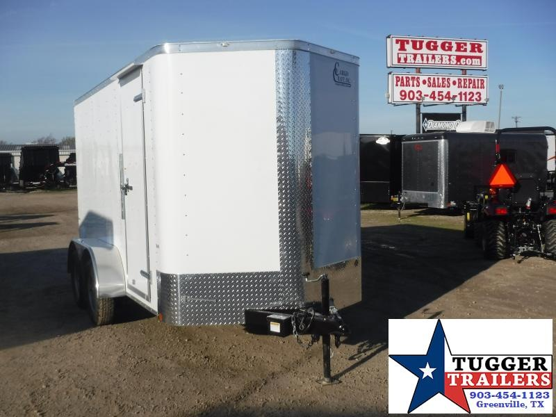 2020 Cargo Craft 6x12 12ft Elite Plus 2' V-Nose Utility Sport Enclosed Cargo Trailer
