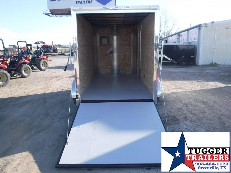 2020 Cargo Craft 6x12 12ft Elite Plus 2' V-Nose Utility Sport Enclosed Cargo Trailer