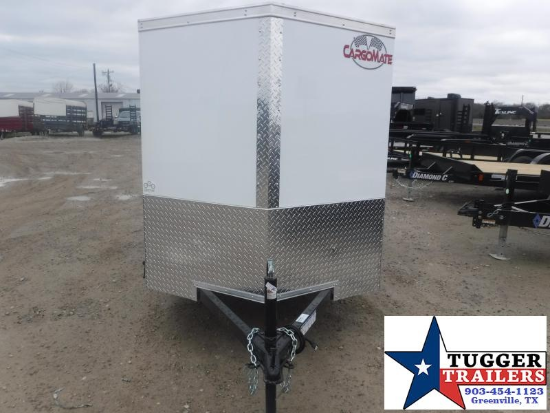 2021 Cargo Mate 5x10 10ft Utility Band Sport Tool Work Bike Move Enclosed Cargo Trailer