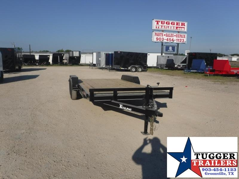 2020 TexLine 83x20 20ft Utility Flatbed Auto Mobile Car / Racing Trailer